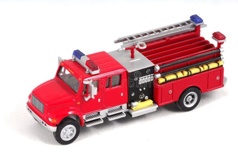 Camion dei vigili del fuoco del giocattolo fotografia stock