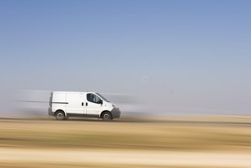 Camion del carico fotografie stock