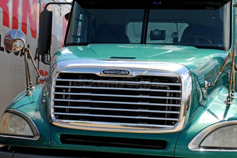 Camion del diesel di Freightliner immagine stock libera da diritti