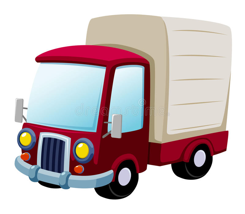 Camion del fumetto illustrazione di stock