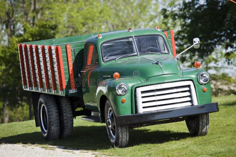 camion del granulo degli anni 50 fotografia stock libera da diritti