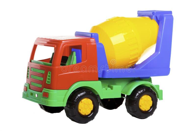 Camion del miscelatore di cemento fotografia stock