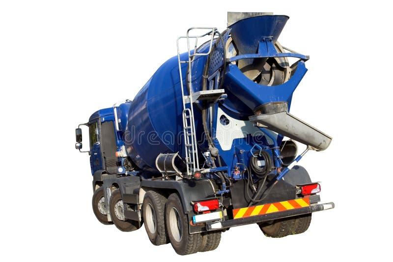 Camion del miscelatore di cemento fotografie stock libere da diritti