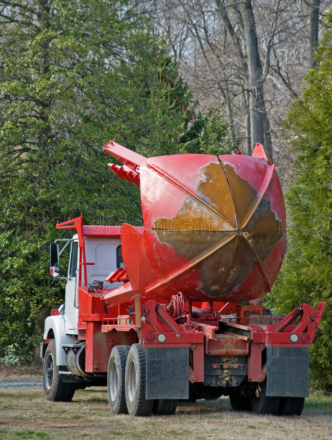 camion dell'albero della forcella fotografia stock