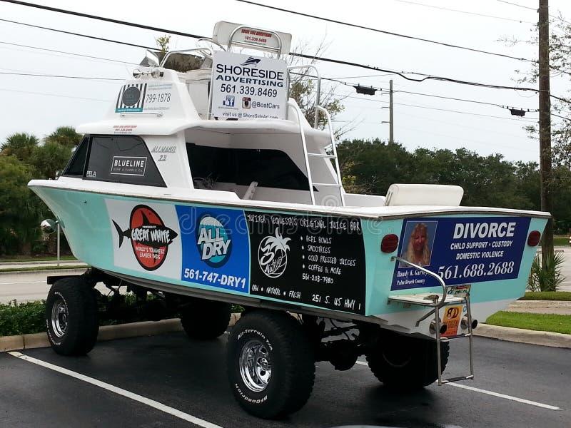 Camion della barca immagini stock libere da diritti