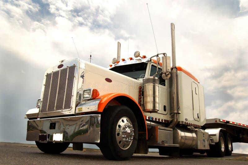 Camion della lunga distanza fotografia stock libera da diritti