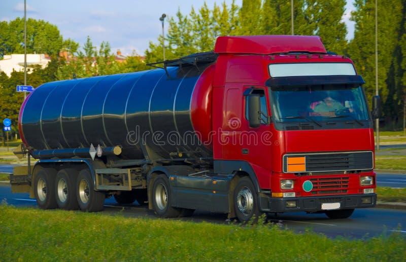 Camion di autocisterna immagini stock libere da diritti