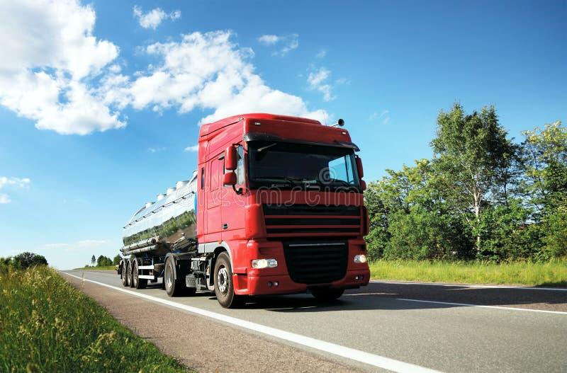 camion di autocisterna fotografia stock