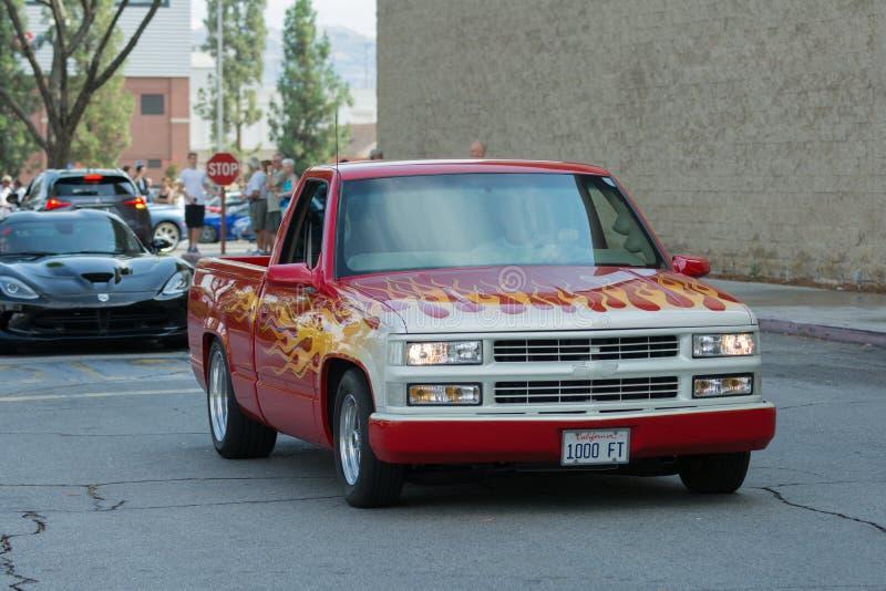 Download Camion Di Chevrolet Silverado Su Esposizione Immagine Editoriale - Immagine di potenza, people: 56879090
