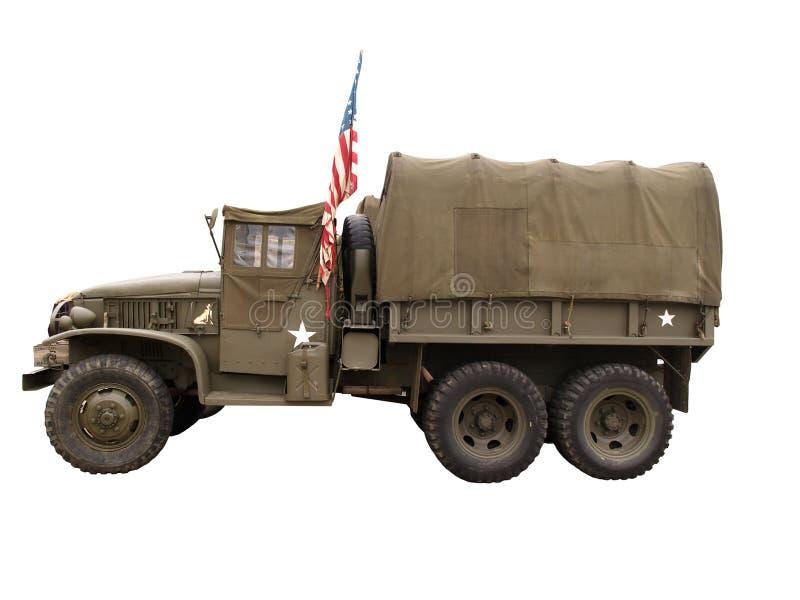 Camion di esercito fotografie stock libere da diritti
