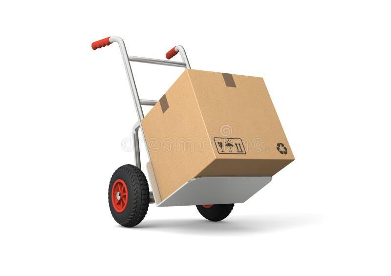 Camion di mano illustrazione vettoriale