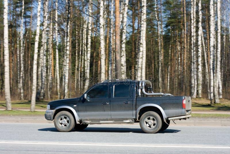 Camion di raccolta fotografia stock libera da diritti