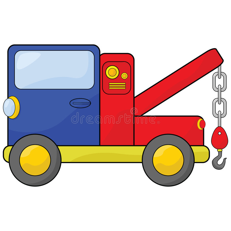 Camion di rimorchio illustrazione vettoriale