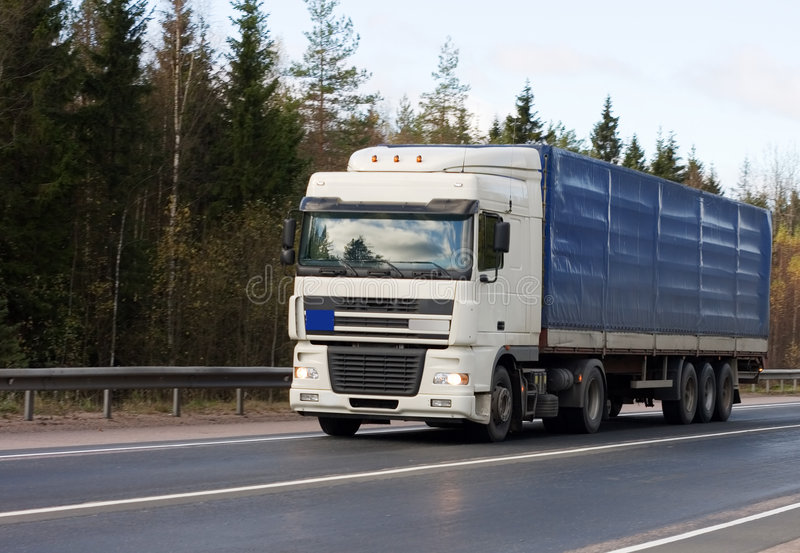 Camion di rimorchio di Trucktor immagine stock