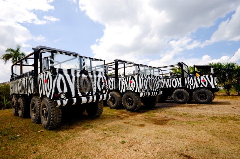 Camion di safari fotografia stock