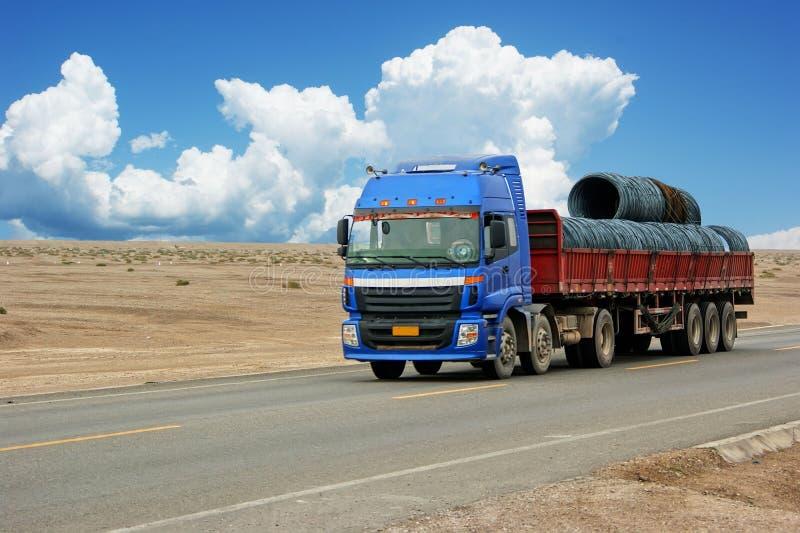 Camion di trasporto fotografia stock libera da diritti