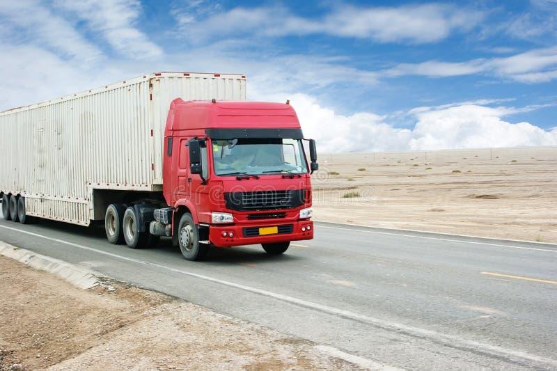Camion di trasporto fotografia stock