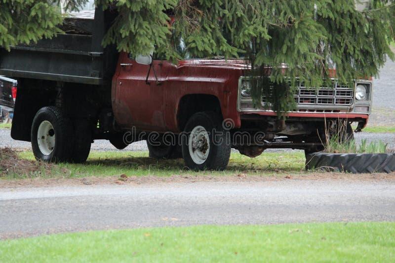 Camion di vecchio stile fotografie stock