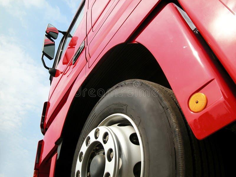 Camion et pneu image libre de droits