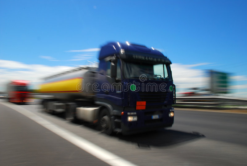 Camion, Europa immagine stock