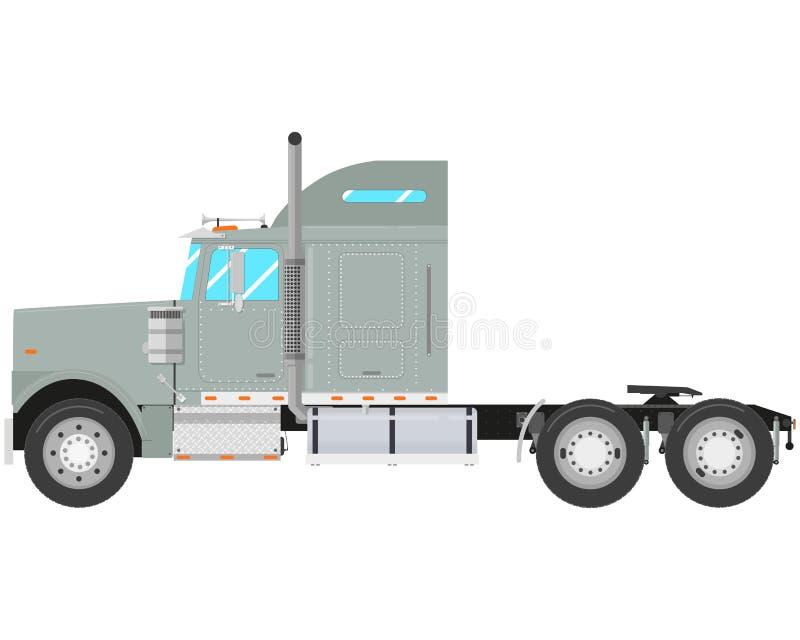 Camion gris illustration stock