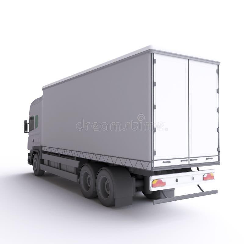 Camion illustrazione 3D royalty illustrazione gratis