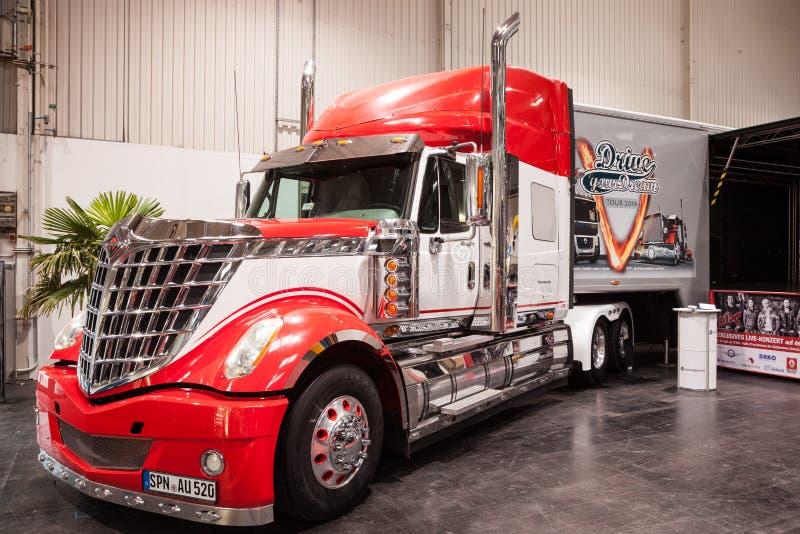 Camion internazionale di Kenworth Lonestar fotografia stock