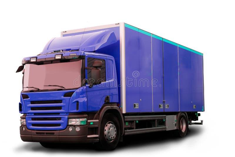Camion isolato del trattore immagine stock libera da diritti
