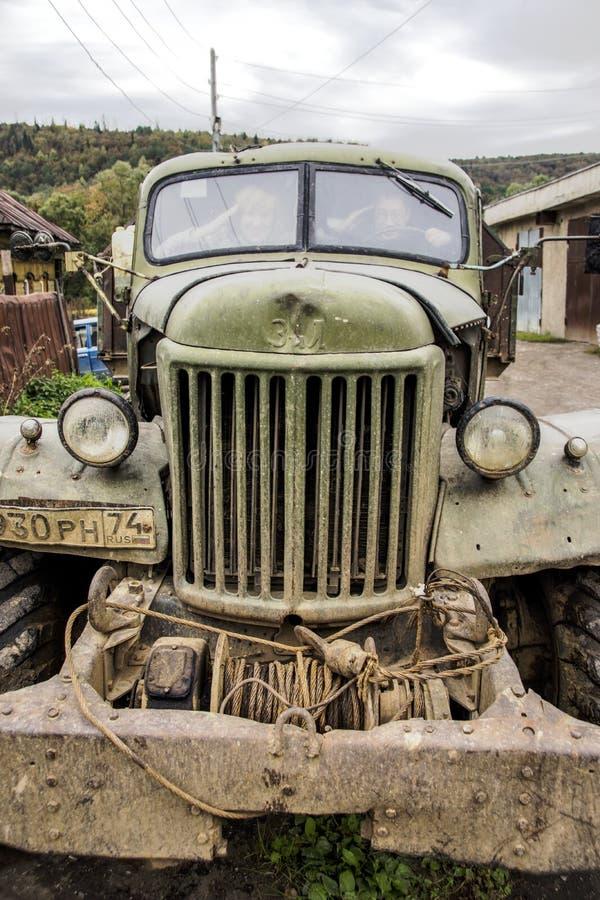 Camion légendaire ZIL-157 photos libres de droits