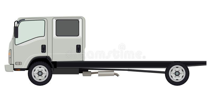 Camion léger illustration de vecteur