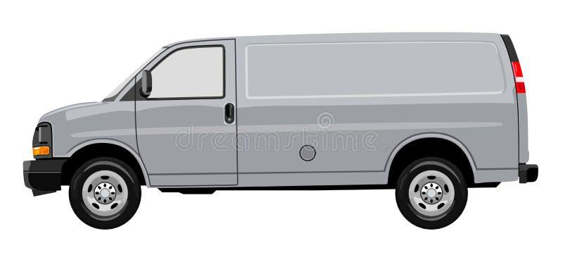 Camion léger illustration libre de droits