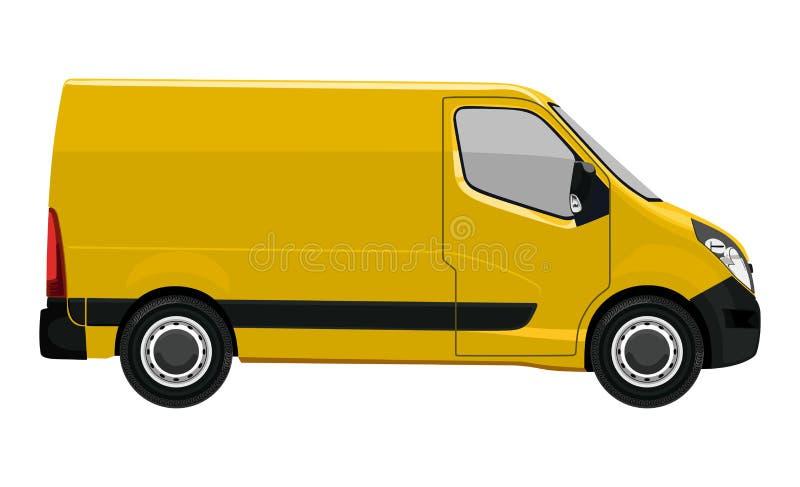 Camion léger latéral illustration libre de droits