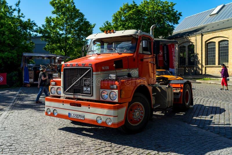 Camion N720, 1976 de Volvo images libres de droits