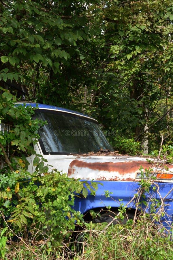 Camion oublié photo stock