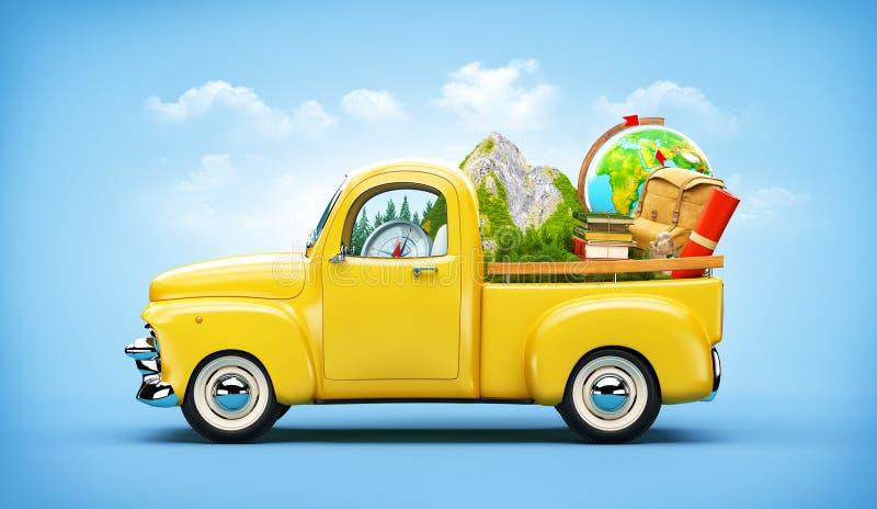 Camion pick-up photographie stock libre de droits