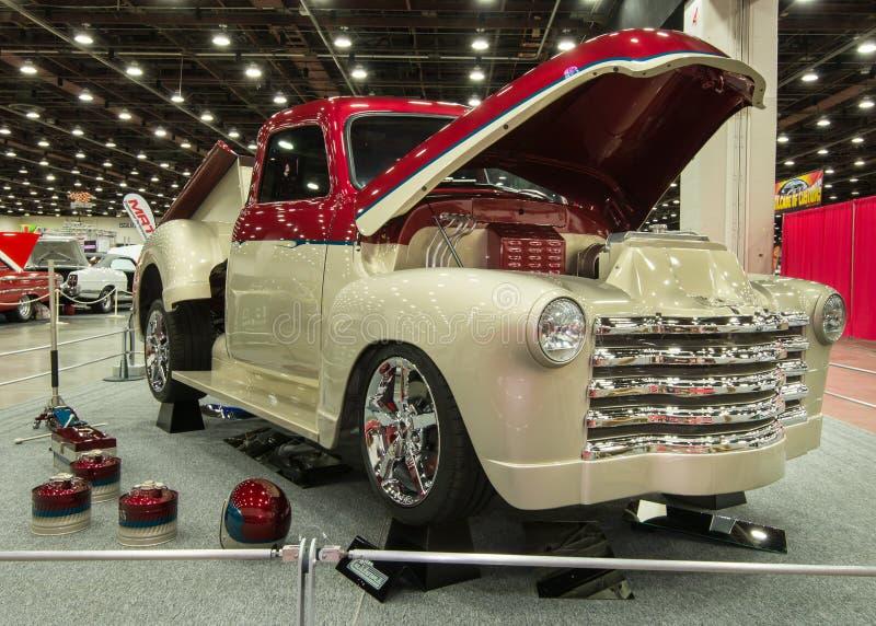 Camion pick-up 1951 de Chevrolet photographie stock libre de droits