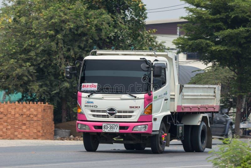 Camion privato del carico di Hino immagine stock