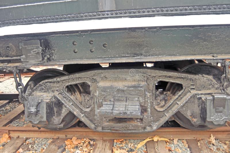 Camion riparati dell'automobile di carbone immagine stock libera da diritti