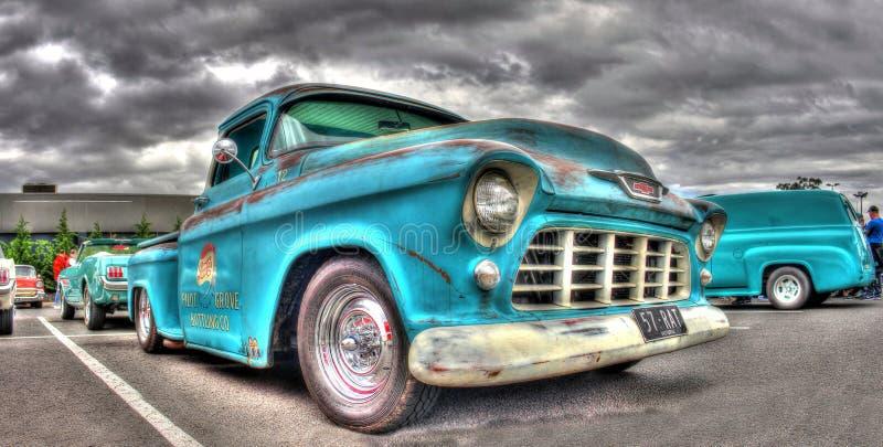 Camioncino classico di pepsi-cola Chevy degli anni 50 fotografia stock libera da diritti