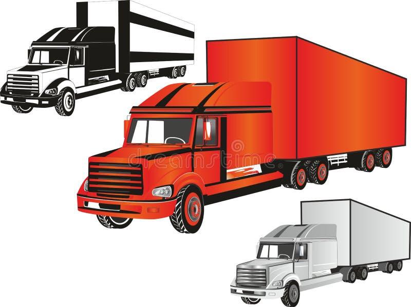 Camiones  fotografía de archivo libre de regalías