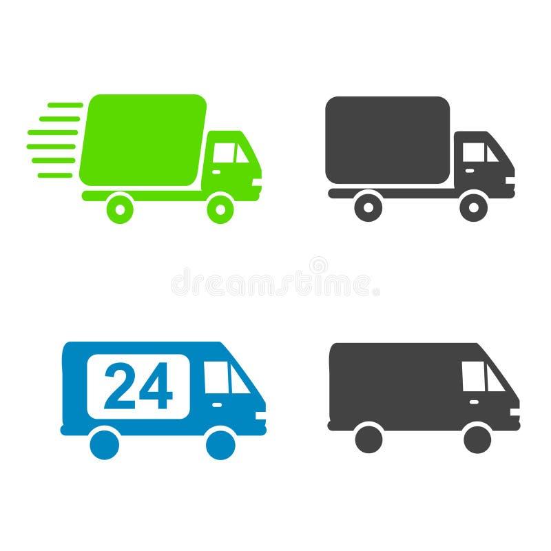 Camiones de reparto libre illustration
