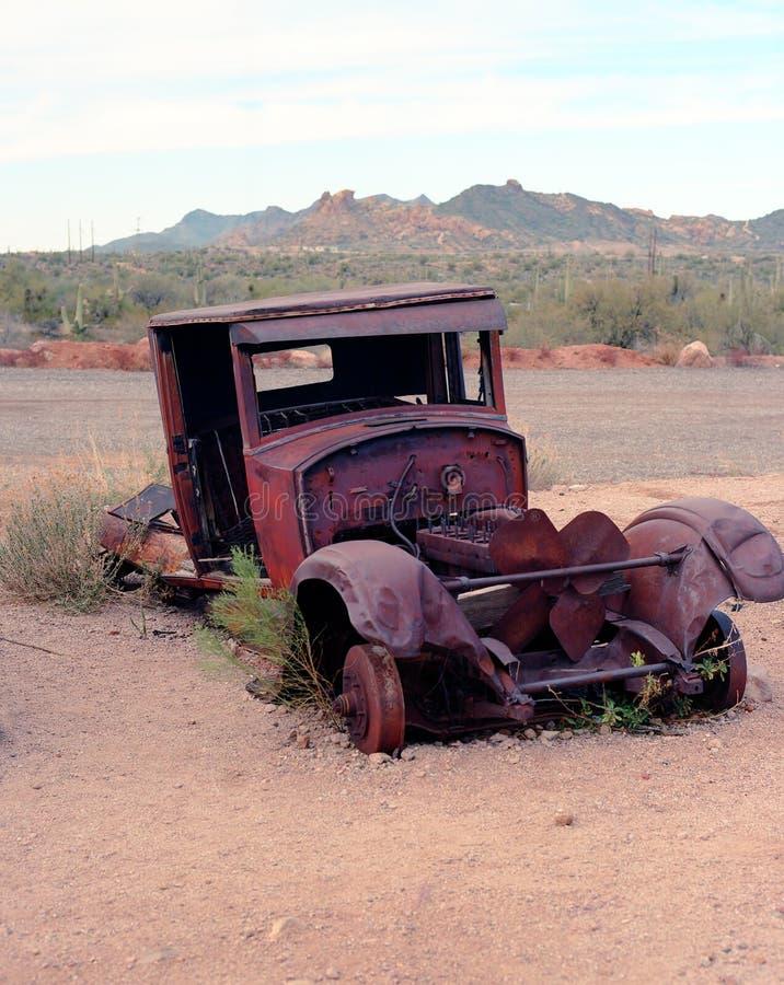 Camioneta pickup abandonada vieja fotografía de archivo libre de regalías
