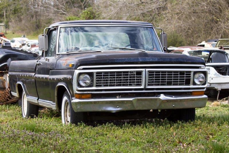 1970 camioneta pickup de Ford F-150 foto de archivo libre de regalías
