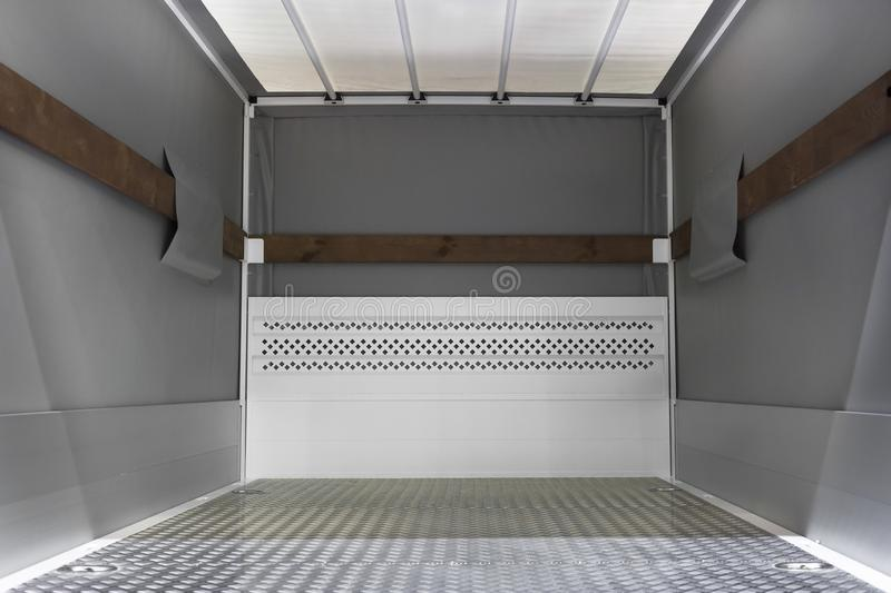Camionete da carga para dentro foto de stock royalty free