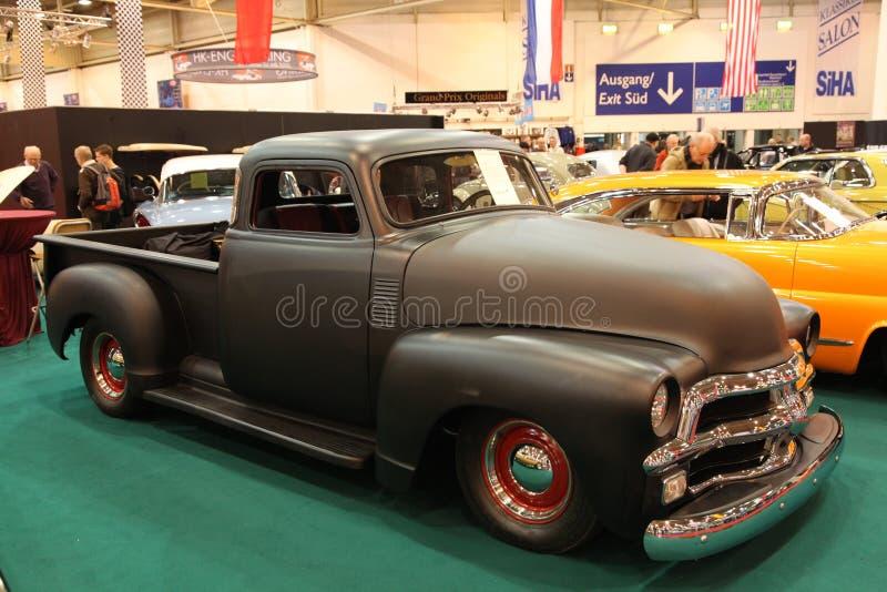Camionete dos E.U. Chevy do costume fotos de stock royalty free