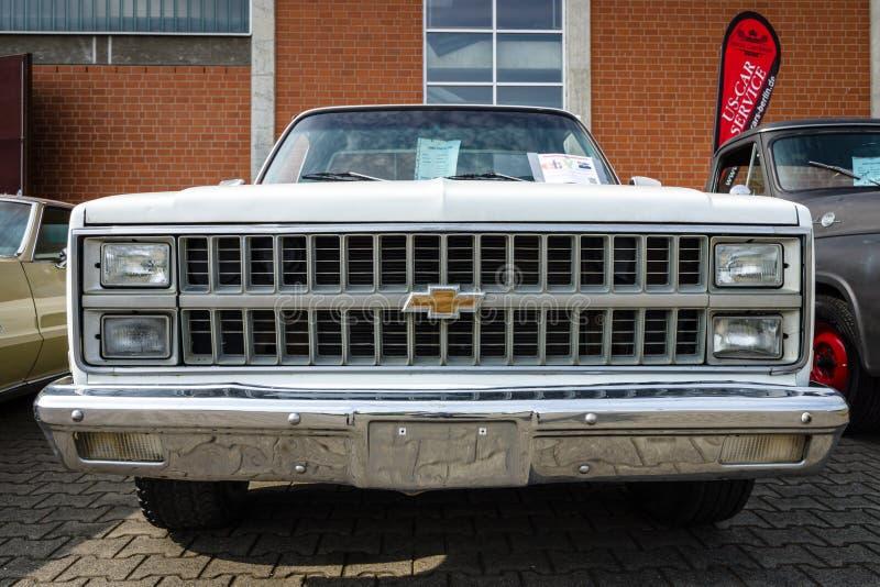 Camionete sem redução Chevrolet C-10, 1981 imagem de stock