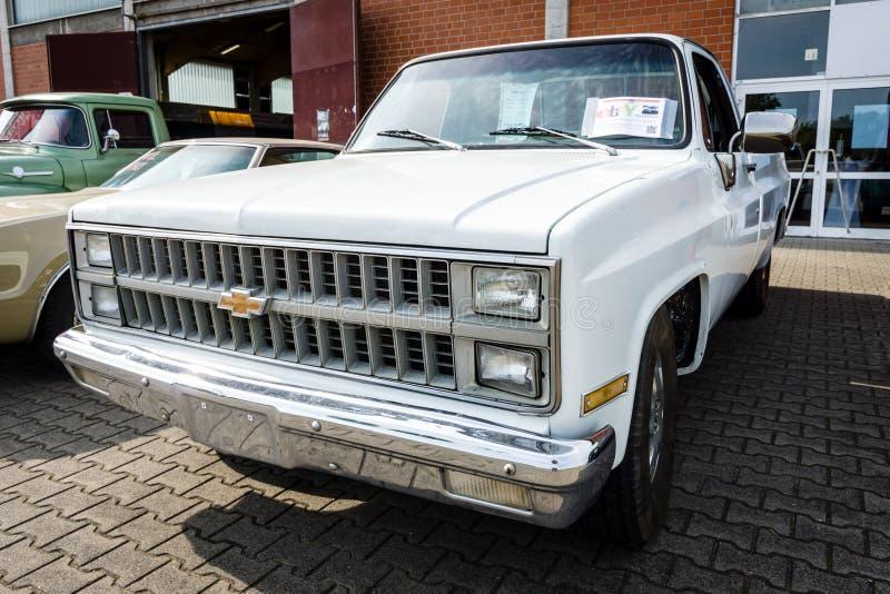 Camionete sem redução Chevrolet C-10, 1981 foto de stock royalty free