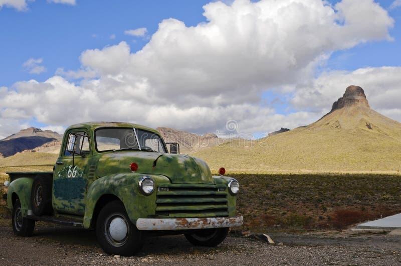 Camionete velha fotografia de stock royalty free