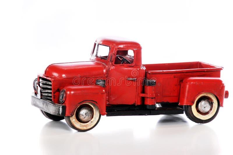 Camionnette de livraison antique modèle photo stock