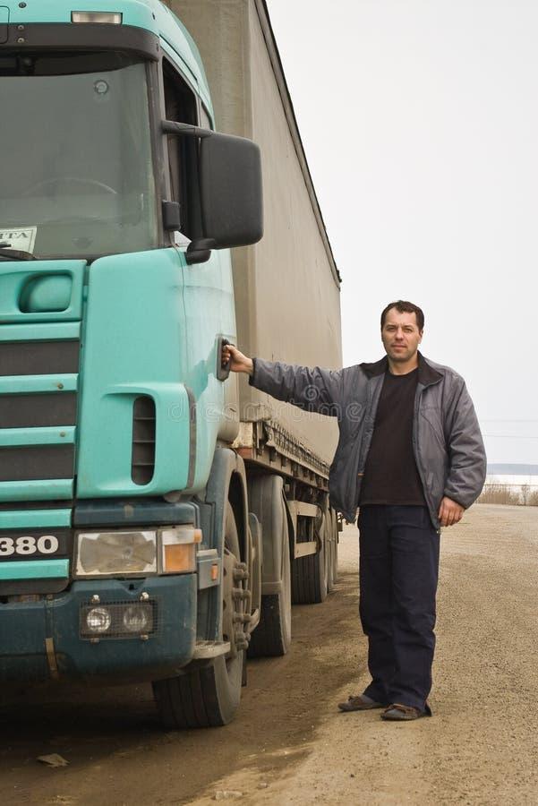Camionneur photos stock